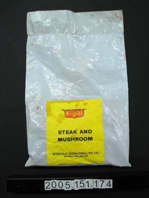 Packet: Dried Steak and Mushroom
