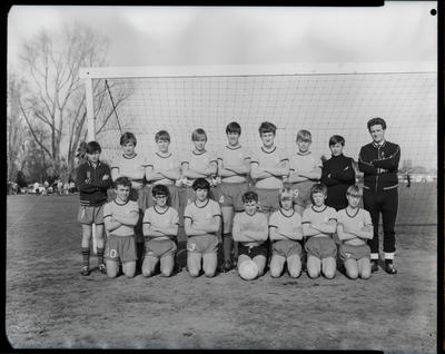 Film Negative: South Island Schoolboys soccer