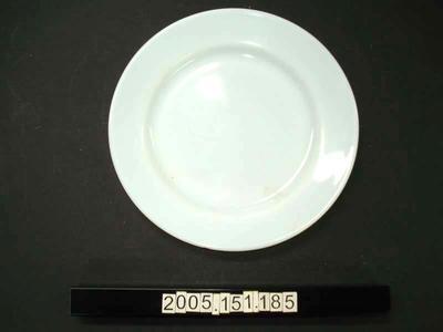 Dinner Plate: Pyrex