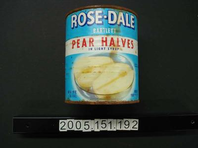 Rose-dale Pear halves in light syrup
