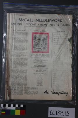magazine, needlework
