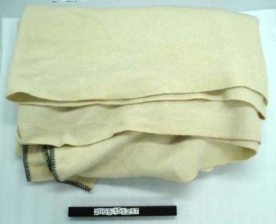 Woollen Blanket: Cream