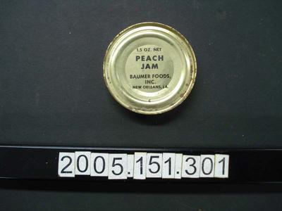 Tin: Peach Jam