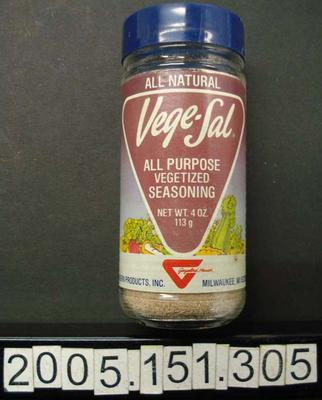 Jar: Seasoning