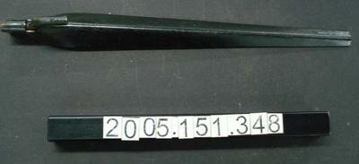15 inch steel apron stake (tent peg)
