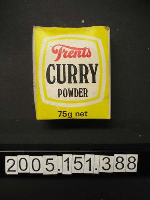 Box: Curry Powder