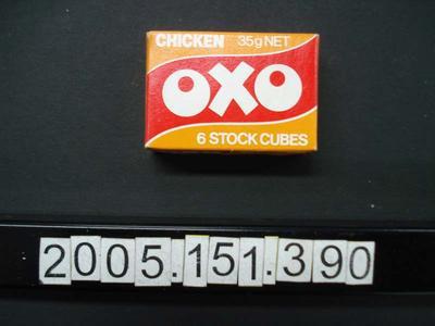Box: Oxo Cubes