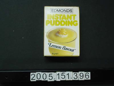 Box: Edmonds Instant Pudding