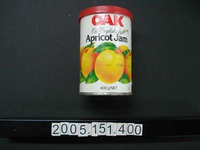 Tin: Apricot Jam