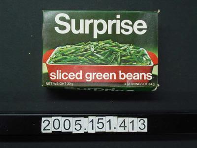 Box: Dried Green Beans