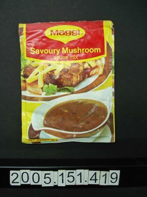 Sauce Mix: Savoury Mushroom