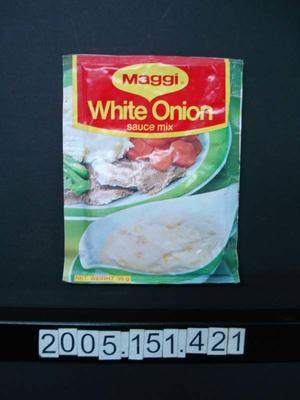 Sauce Mix: White Onion