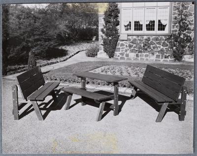 Black and White Photograph: R J Harris Furniture