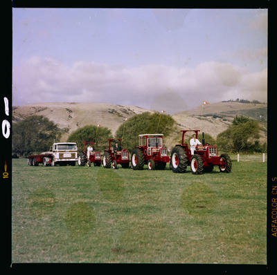 Film Negative: International Harvester Company, truck and tractors