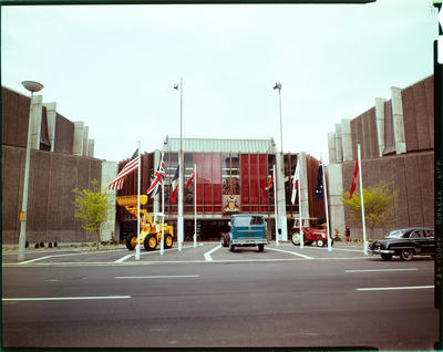 Film Transparency: International Harvester Company, conference at the Christchurch Town Hall