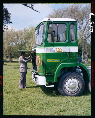 Film Negative: International Harvester Company: Seddon Truck Limited
