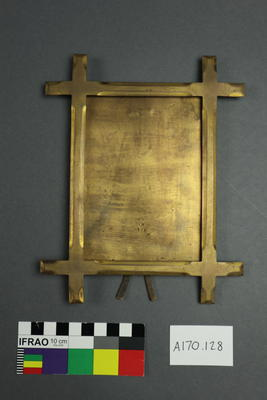 Picture Frame: Brass