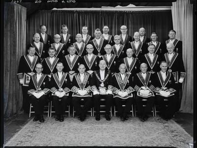 Film Negative: Masonic Grand Provicial Lodge