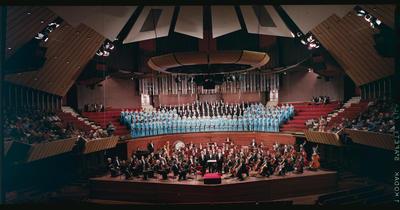 Film Negative: Christchurch Choral society at town hall