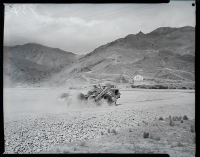 Black and White Film Negative: International Harvester Company Numbers 925 - 939, machines at Benmore.