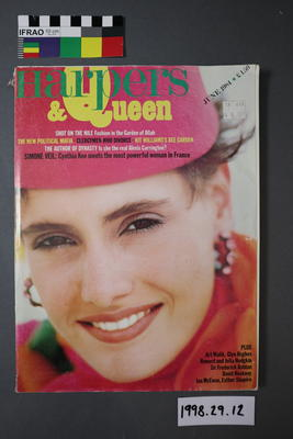 Magazine: Harpers and Queen