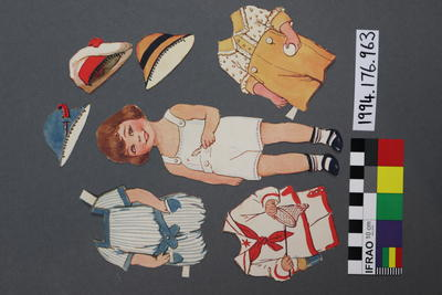 Paper Doll Set: Boy