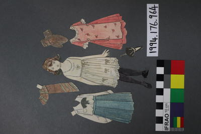 Paper Doll Set: Girl