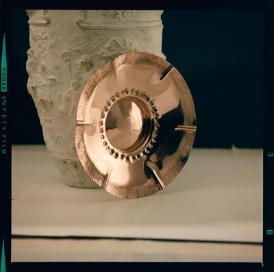Film Negative: Brinkman Copperware: turbine plate