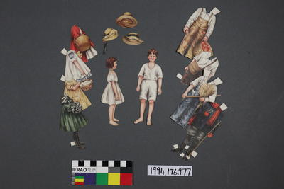 Paper Doll Set: Country Girl and Boy