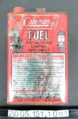 Tin: Coleman Fuel