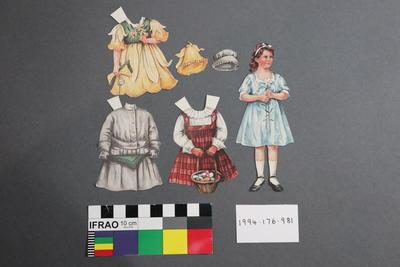 Paper Doll Set: Girl