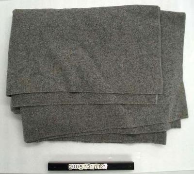 Woollen Blanket: Grey