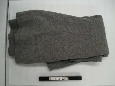 Grey woollen blanket