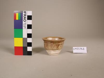 Cup, ceramic