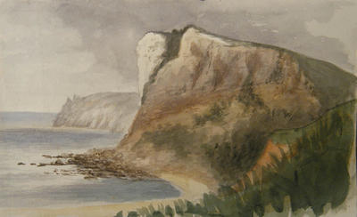 Painting: White Cliff and Beer Head June 1836