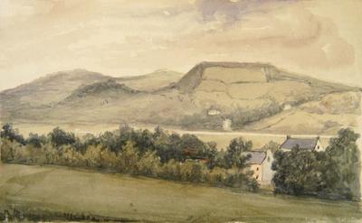 Painting: Part of Seaton & Axmouth in the distance June 1836