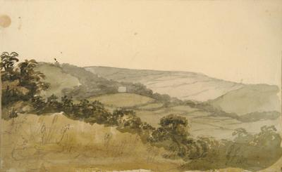 Painting: Rhode Hill, seat of Sir John Talbot, August 1836