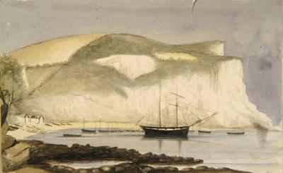 Painting: Beer Harbour from the West, August 1836