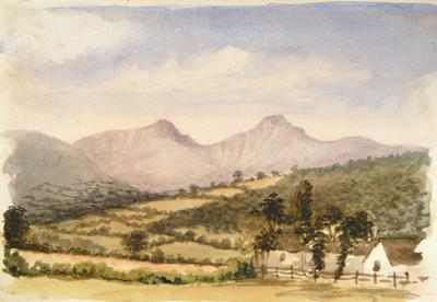 Painting: The Brecon Beacons, July 11th 1837