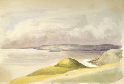 Painting: Cleardon Bay from Sandpoints, July 1837