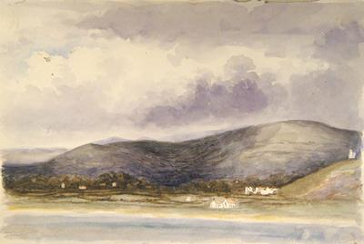 Painting: Uphill from Brean Down, September 1837