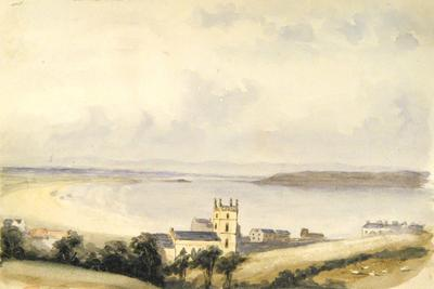 Painting: Weston Bay and Church, September 1837