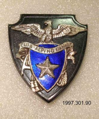 Badge: Club Alpino Italiano