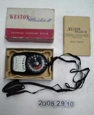 Weston exposure meter