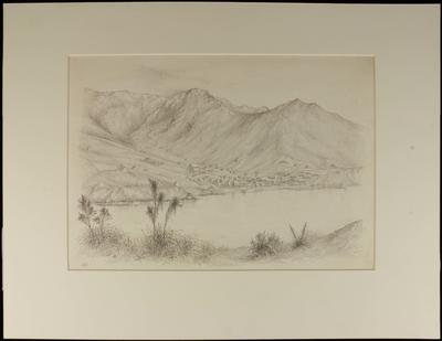 Drawing: Town of Lyttelton