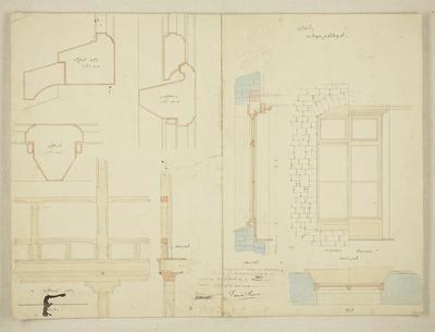 Mountfort Architectural Plan: Canterbury Museum, 1869