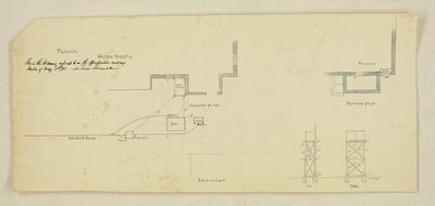 Mountfort Architectural Plan: Canterbury Museum, 1891