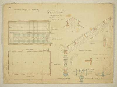 Mountfort Architectural Plan: Canterbury Museum, 1881