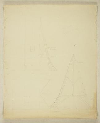 Mountfort Architectural Plan: Canterbury Museum; 2010.161.1453