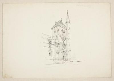 Mountfort Architectural Plan: Canterbury College